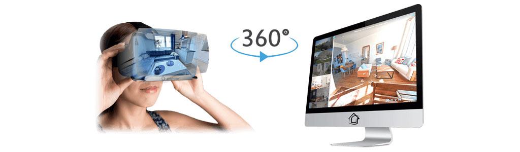 ویژگیهای تور مجازی املاک 360 نما